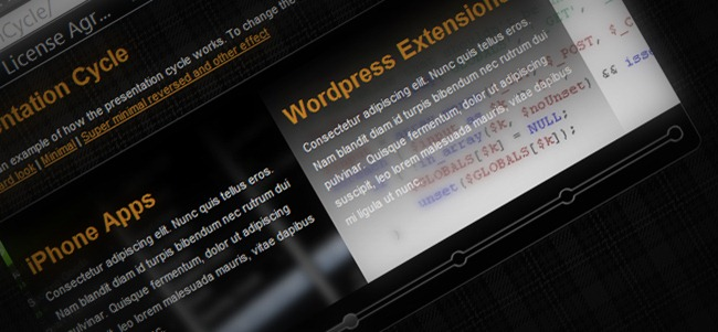 190+ Best! jQuery slider tools   Part II