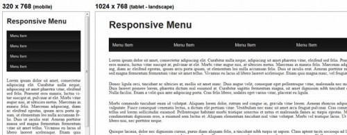 Responsive Web Designing : Tutorials & Plugins for Responsive Navigation Menus