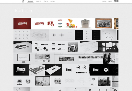 Outstanding Example of Design Portfolios