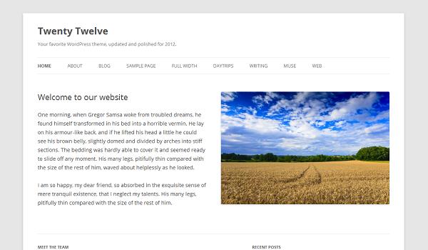WordPress 3.5 Beta 1 Release