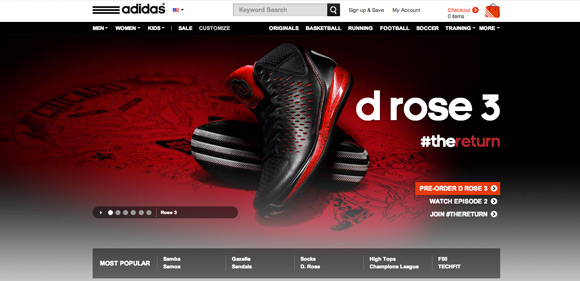Collection of Creative Sports Websites