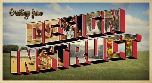 Creative Postcards Design Tutorials