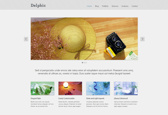 Collection of Free HTML5 and CSS3 Templates II