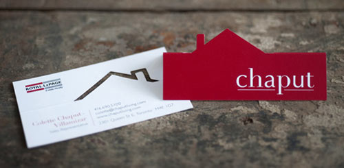 27 creative Red Business card